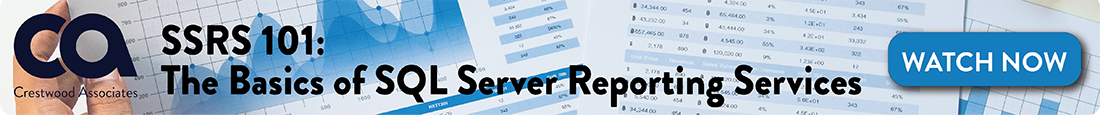 SSRS SQL Service Reporting