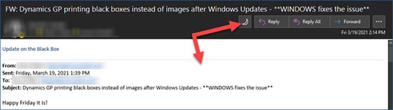 Microsoft Dark Mode