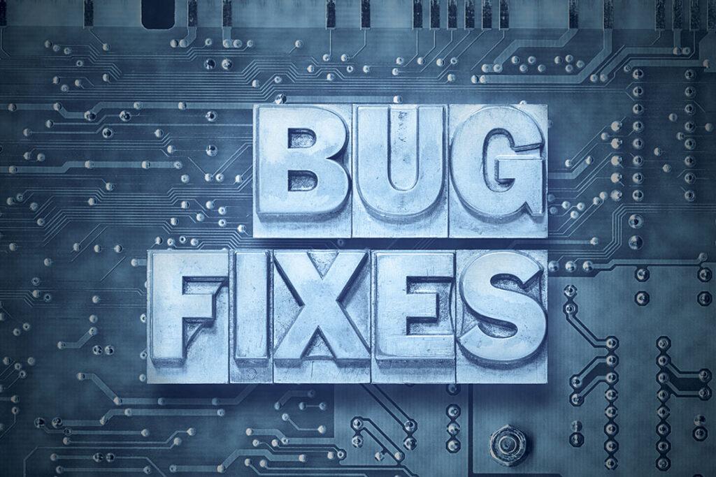 GP Bug Fix Black Boxes