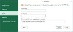 Define Web Service Key in Dynamics 365 BC