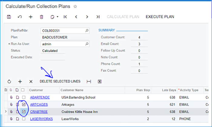 Collections Management for Acumatica Release Notes