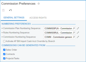 Advanced Commissions for Acumatica Release Notes