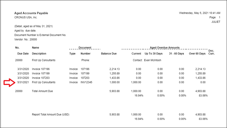 Entering Payables Invoices in BC
