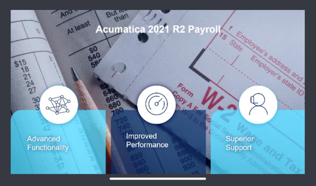 Acumatica Payroll