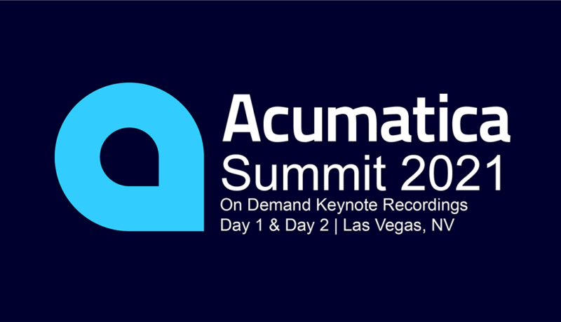 Acumatica Summit 2021 Keynote