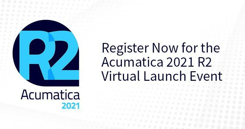 Acumatica Virtual Event Launch