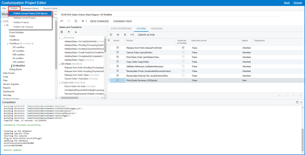Adding Reports to any Screen in Acumatica