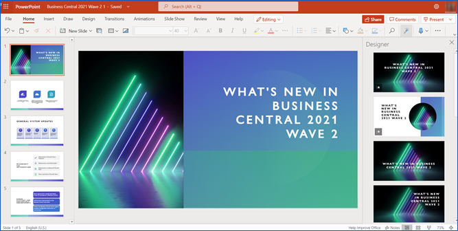 Convert Word Docs to PowerPoint Slides
